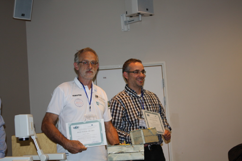 Best paper award to José Carlos Alves and Holger Klinck